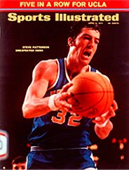Steve Patterson on cover of Sports Illustrated