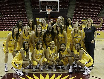 The ASU Women's Basketball Team