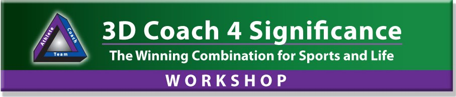 3D Coach 4 Significance Workshop