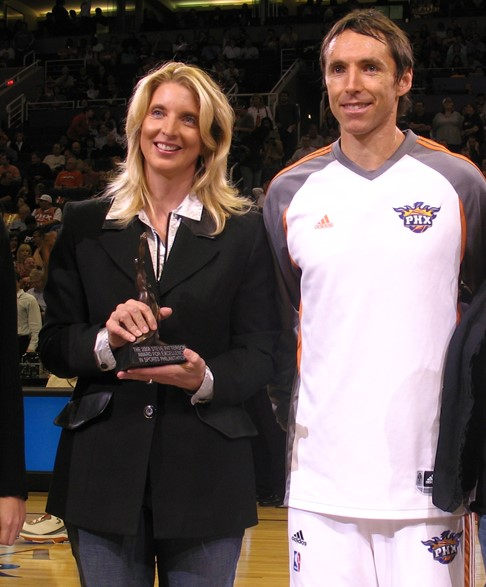 Carlette Patterson with Steve Nash